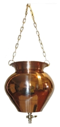 Shirodhara Bowl - Copper with valve