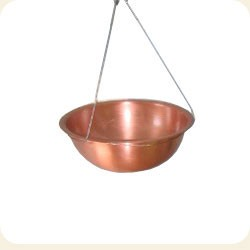 Shirodhara Copper Bowl & Metal Hanger (Without valve)